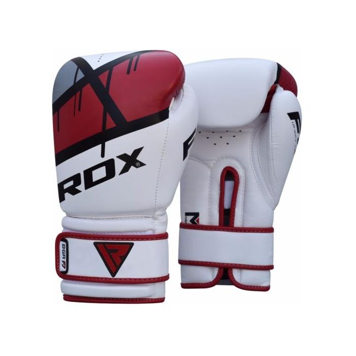 d004bb886 RDX boxerské rukavice gel BGR-F7 červené | Profight.cz