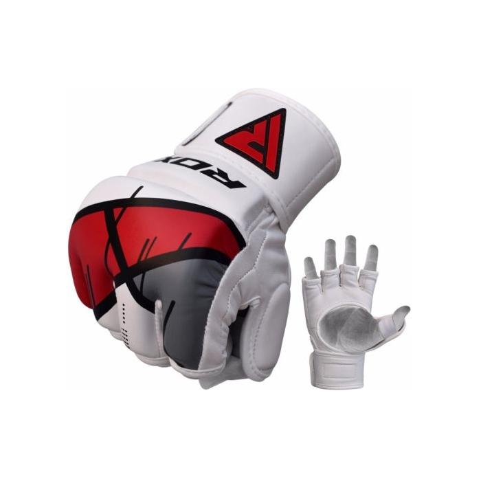 6ba9535a8 RDX T7 Ego MMA grappling rukavice červené | Profight.cz