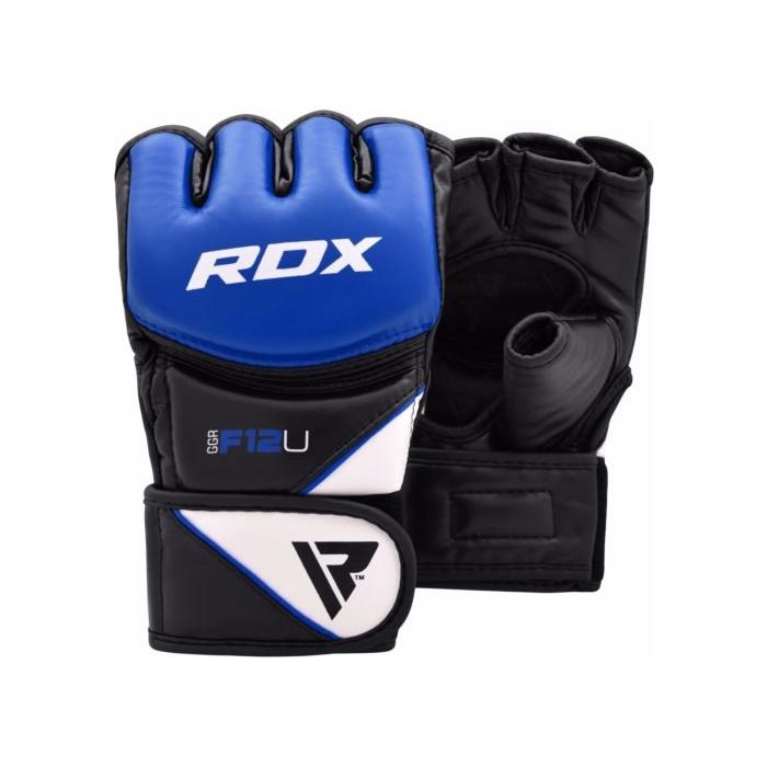7fa1489cf RDX F12 MMA grappling rukavice modré | Profight.cz