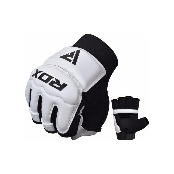 98817bdd2 RDX rukavice pro Taekwondo MMA Grappling T2 bílé | Profight.cz