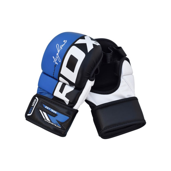 RDX grappling MMA rukavice T6 REX modré  be0f344dd3